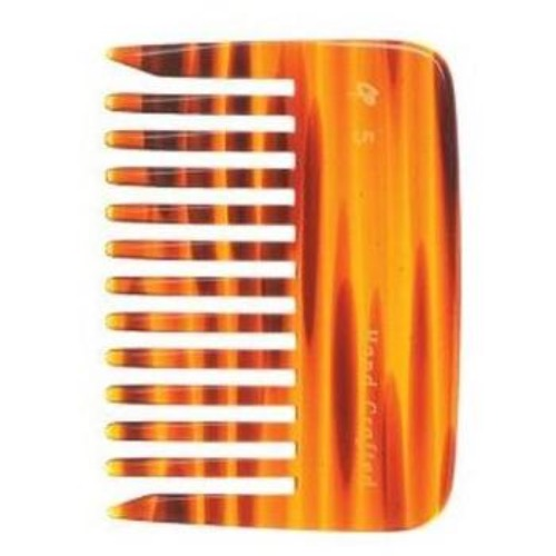 C5 Wide Tooth 4 Inch Tortoise Hair Comb