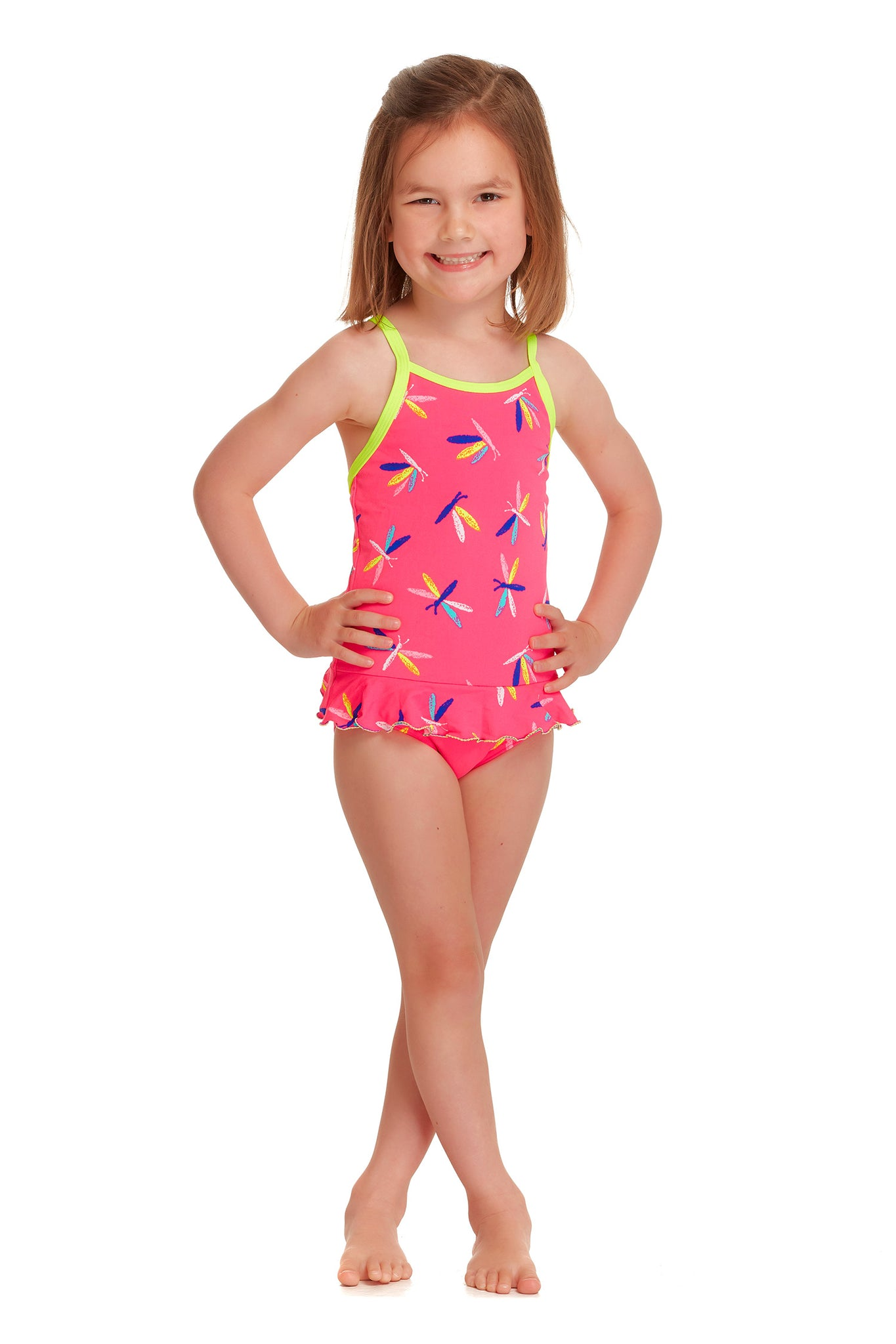 FUNKITA TODDLER GIRLS FLY DRAGON TODDLER SIZE ONE PIECE