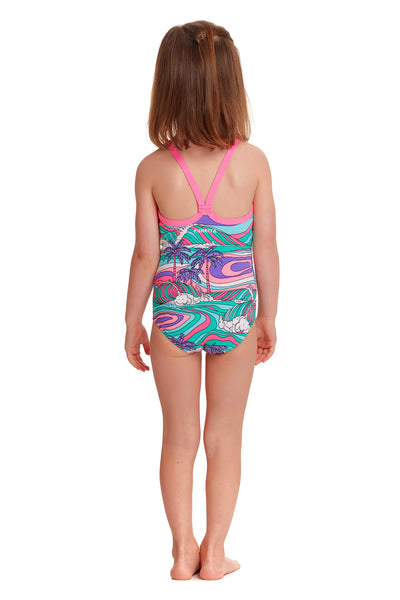 FUNKITA TODDLER GIRLS PALM COVE ONE PIECE  FKS022G