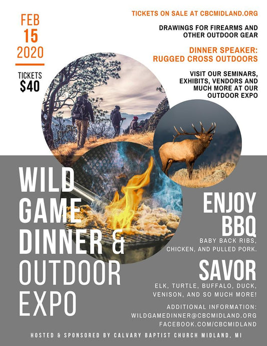 Wild Game Dinner & Outdoor Expo
