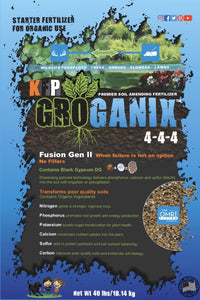***NEW***GROGANIX® Fusion Gen II (N-P-K of 4-4-4)