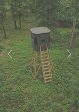 Load image into Gallery viewer, 360 Shootin' House Blind - 6x6 Crossbow, Archery, Gun Blind