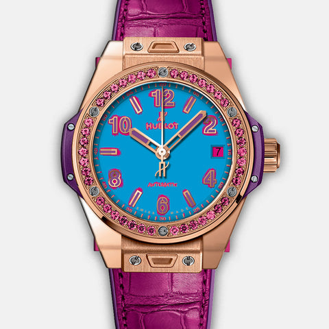 Hublot Pop Art_King Gold Rose 465.OP.5189.LR.1233.POP16 Discount Zapanda Products New