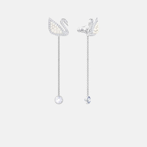 Swarovski Swan earrings 5429270 discount Zapanda Products New