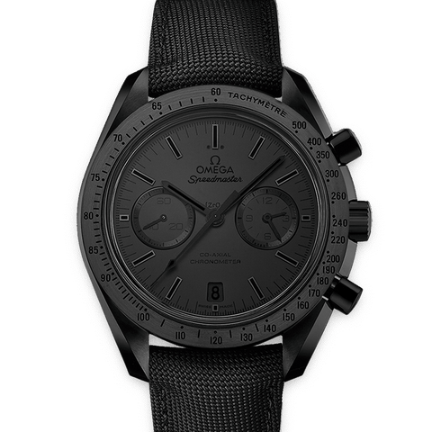 OMEGA Watches Speedmaster Moonwatch Black Black Chronograph 31192445101005 Discount by ZAPANDA.com