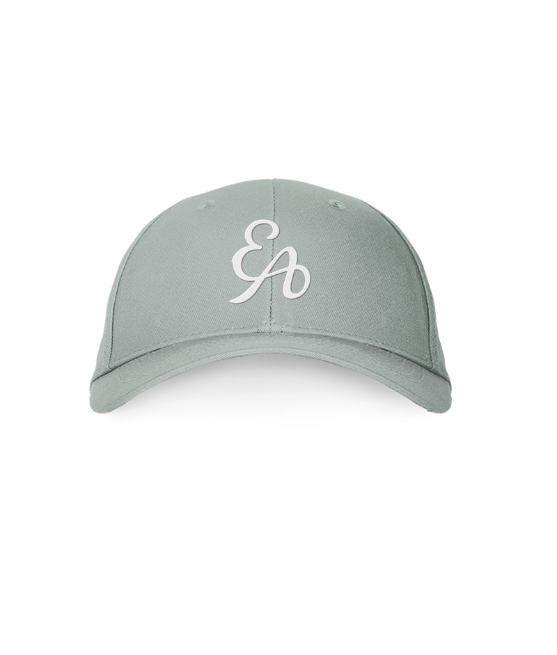 EA Logo Fitted Hat - Grey