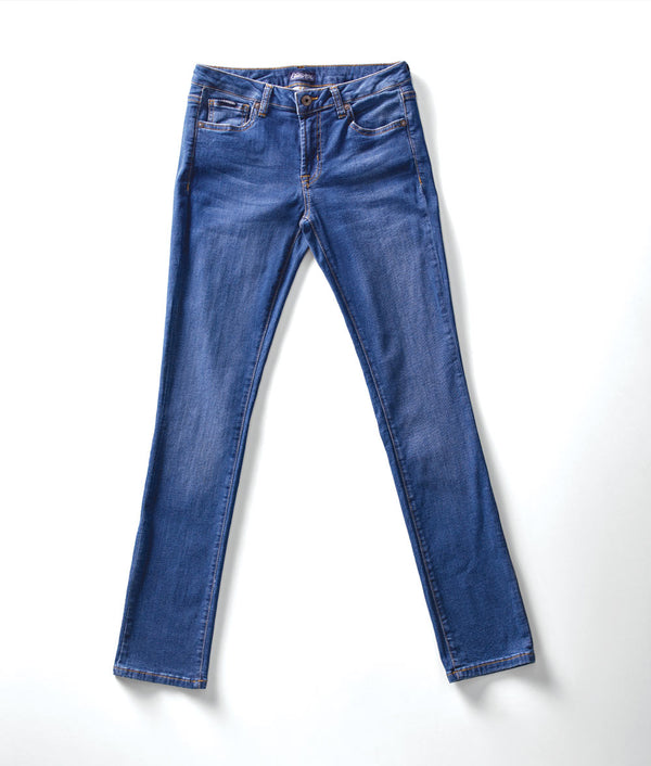 Front view of Edison Atlas Hartley wash denim