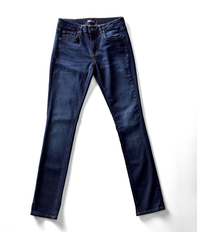 Front view of Edison Atlas Nova wash denim