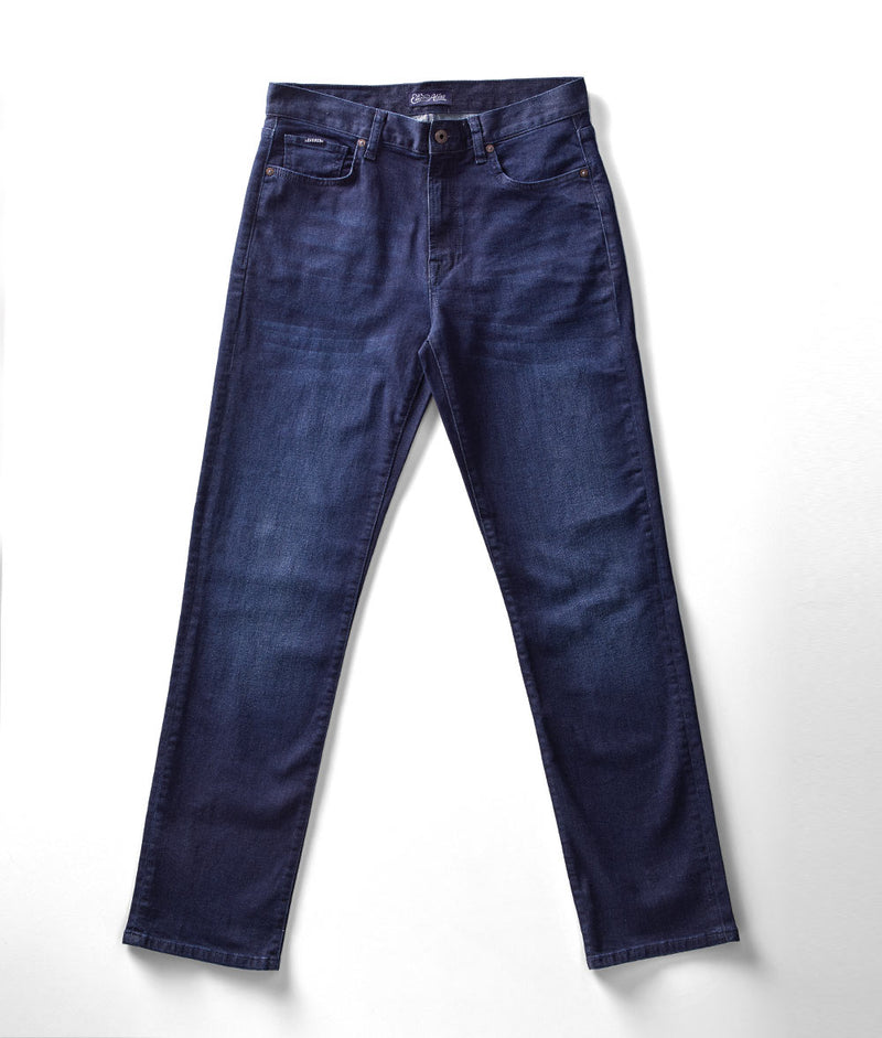 Front view of Edison Atlas Titan wash denim