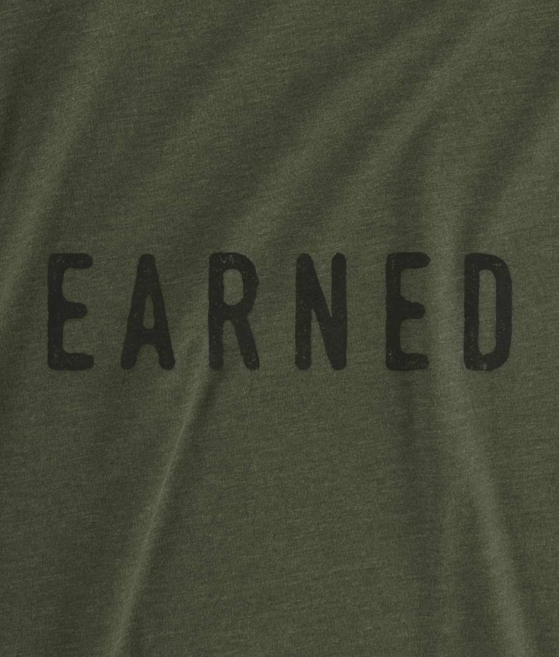 EARNED T-Shirt - Military Green