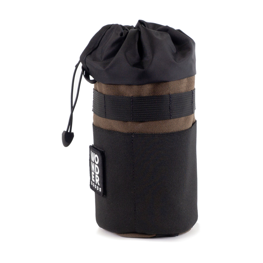 Brown Snack Pack Stem Bag