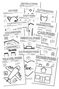 Sinking Funds Trackers Bundle (Printables)
