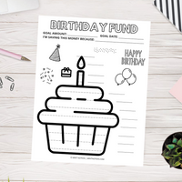 Birthday Savings Tracker (Printable)