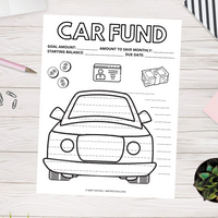 Car Sinking Fund Tracker (Printable)