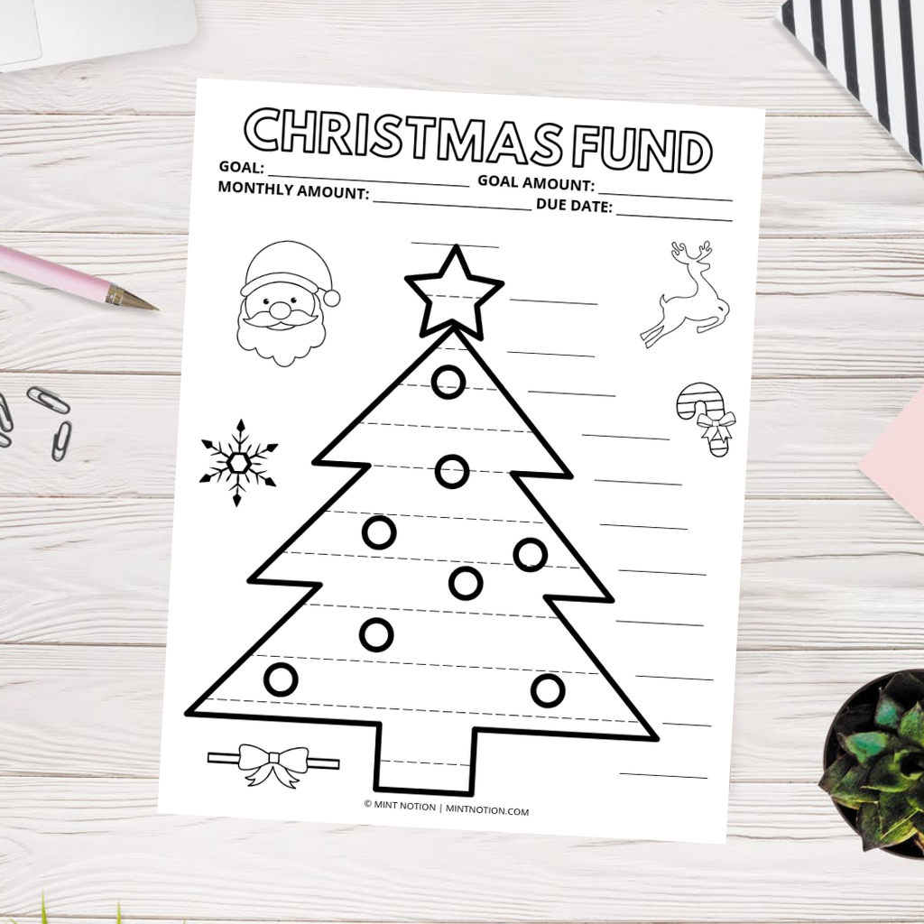 Christmas Sinking Fund (Printable)
