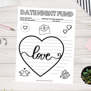 Date Night Sinking Fund (Printable)
