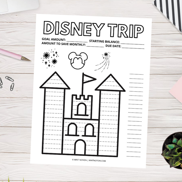 Disney Savings Tracker (Printable)