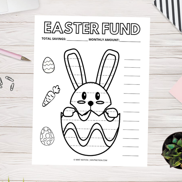 Easter Fund Savings Tracker (Printable)