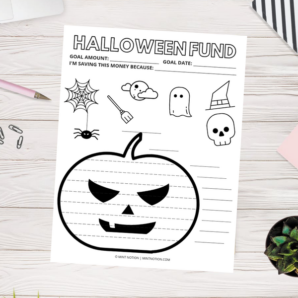 Halloween Savings Tracker