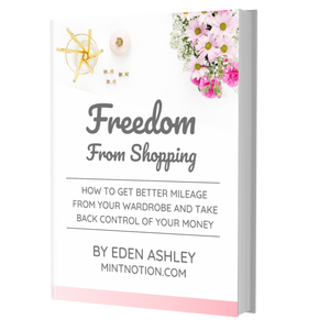 Freedom From Shopping (e-book)