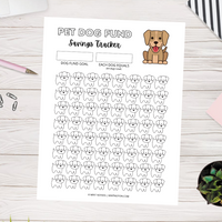 Pet Dog Fund (Printable)