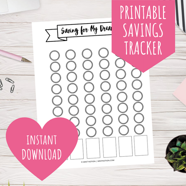 Saving for My Dreams Goal Tracker