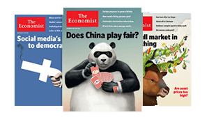 subscribe to the economist magazine