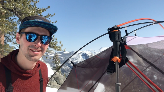 OutRigger Attachment: How to reinforce your tent with trekking poles