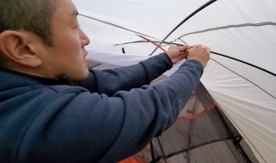 How To Dry-Pitch Your Tent