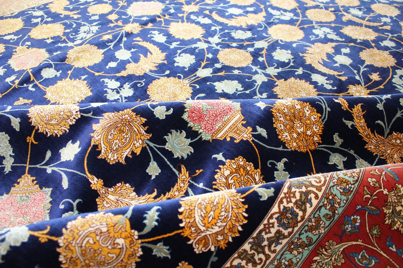 Exquisite Pure Silk by Master Mir Mehdi