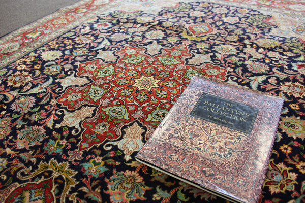 Fine Antique Tabriz from the Ballantyne Collection
