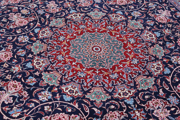 Rare, published Isfahan Rug by Mohammad Seirafian