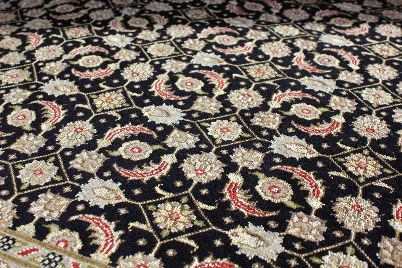 Silk Tabriz by Parvizian