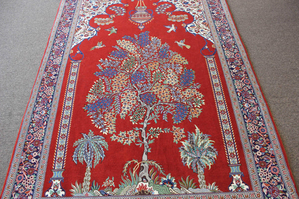 Tree of Life Qom Rug