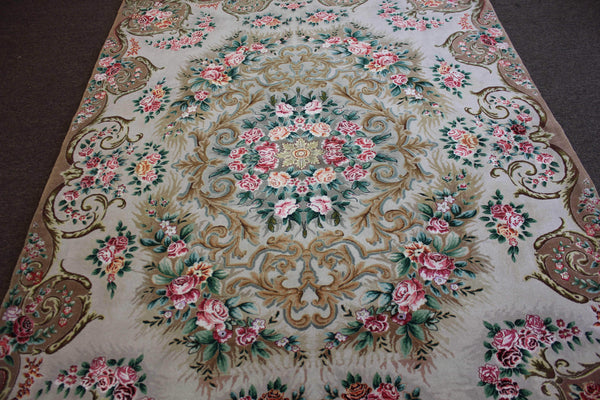 Very Fine Antique Tabriz - French Design