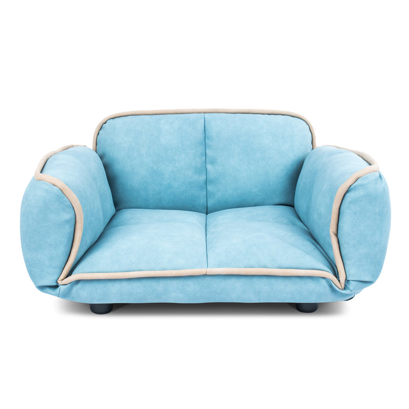 Stark dog sofa blue