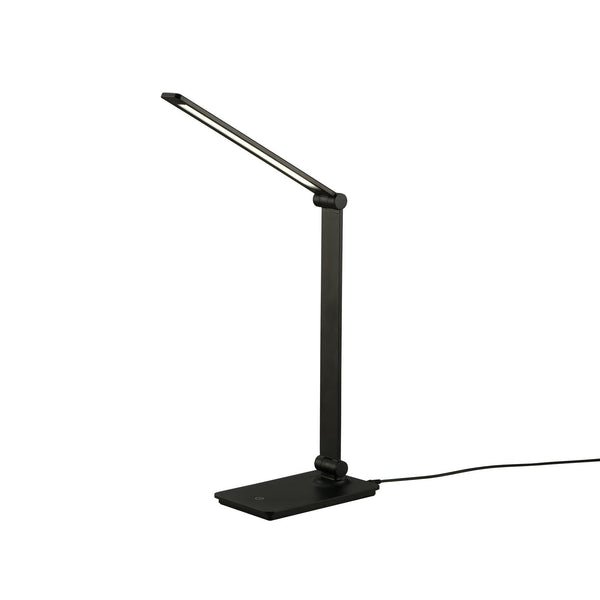 13.4 in. Black LED Trouch Control Table Lamp
