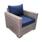 8-Piece Outdoor Pation Funiture Set Wicker Rattan Sectional Sofa Couch with Coffee Table