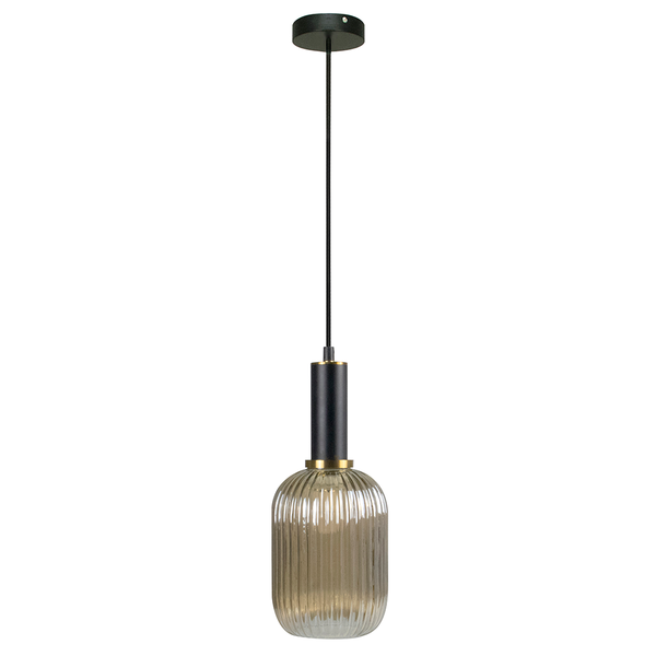 Eitzen Fluted Glass Pendant Light