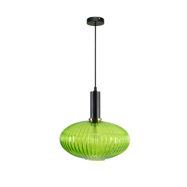 Tessie Fluted Glass Pendant Light