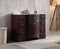 48 inch Lotus Single Sink Vanity with Travertine Marble Top