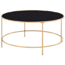 Rockbel Glass Top Coffee Table