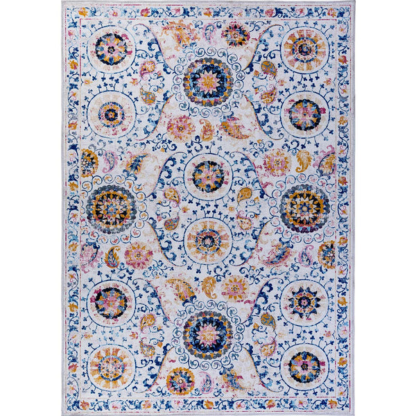 Mallow Traditional Vintage Area Rug