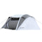 EchoSmile 4-6 person gray pop up tent with rain fly