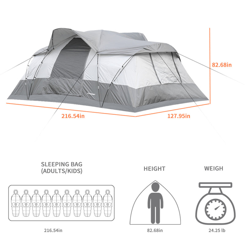 EchoSmile  tent for 10 people