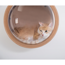 MyZoo Spaceship Gamma Wall Mounted Cat Bed Open on the Right