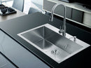 Nationalware Apron/Farmhouse Stainless Steel 36 in. Double Bowl Kitchen Sink