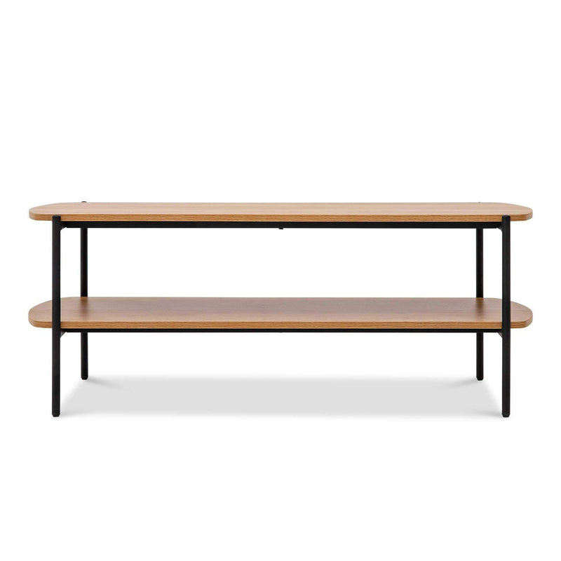 "Querencia 47""x17"" Rectangular Coffee Table with Storage for Living Room"