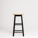 "Mavka 24"" Counter Stool with Natural Seat"