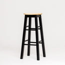 "Mavka 29"" Bar Stool with Round Natural Seat"